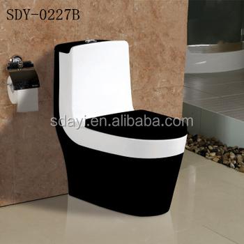 Couleur En Céramique Wc Cuvette Sanitaire Couleur Wc Noir Marron - Buy  Toilette Couleur Noir,Couleur Toilette Marron,Toilette Portable Colorée ...