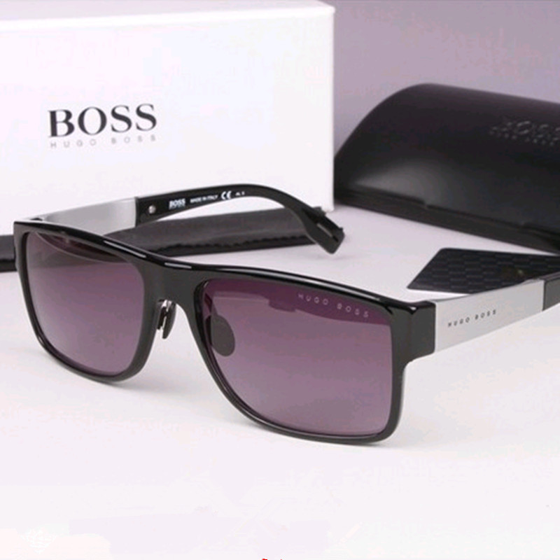 20cf3032a3 2016 new men sunglasses male driver driving sunglasses male black tide  ultralight square box 0440 s Hollywood star sun glasses
