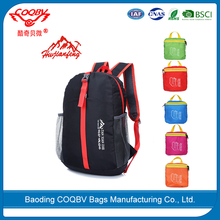 COQBV 2017 hot sale elegance high quality waterproof foldable backpack