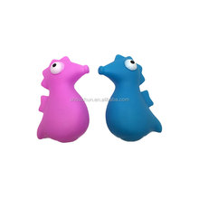 Lovely Sea Horse Vinyl Pet Toys Squeaky Sound Dog Toys