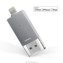 [MFi certified] Omars 32G / 64G / 128G OTG USB 3.0 Flash Drive for iPhone iPad external memory storage