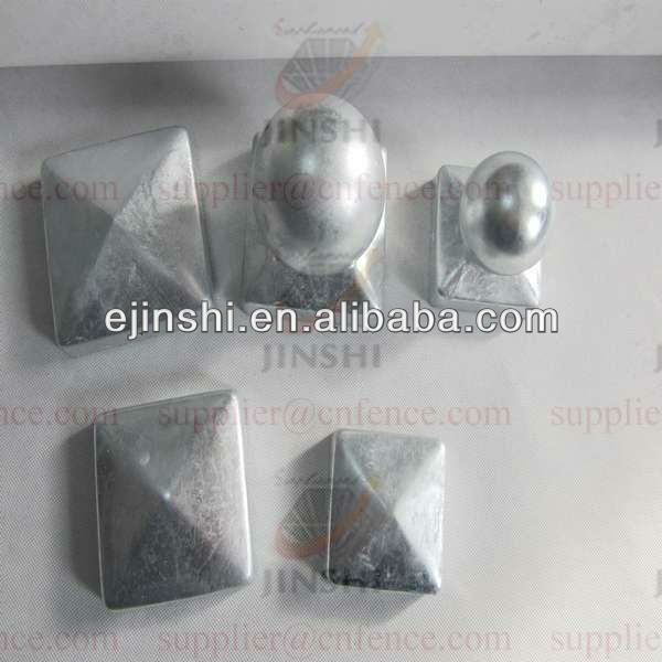 Hot dipped galvanized Fence Post Caps