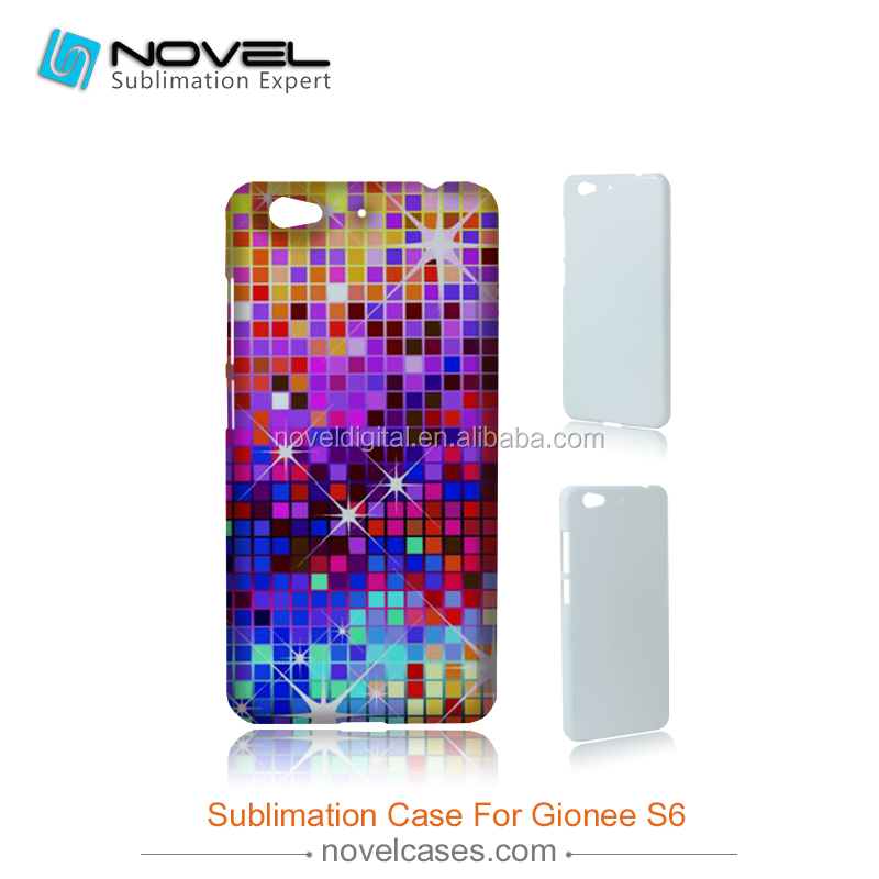 Hot Sale 3D Sublimation Phone Case Cover for Gionee Elife S6, DIY Phone Case Cover
