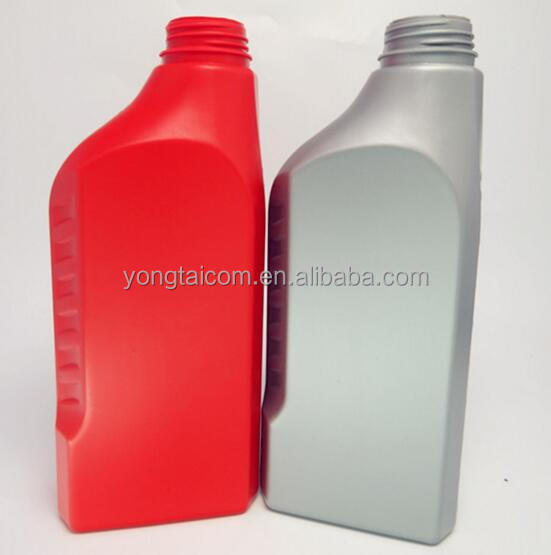 1L Motor Oil packing Lubricant HDPE Plastic Bottle with liquid level line