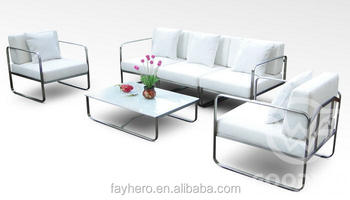 Gw4004set Stainless Steel Sofa Set Stand All Weather Furniture Outdoor