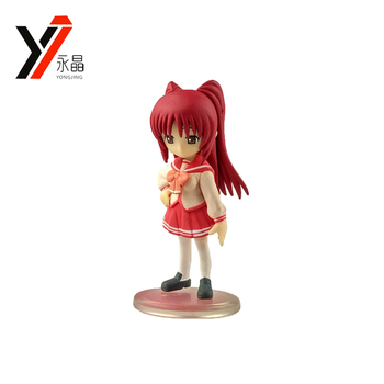 Oem Pvc Toy Maker Cute Cartoon School Girl Anime Figure - Buy School Girl  Anime Figure,Cute Cartoon Girl,Cute Cartoon Figure Product on Alibaba com