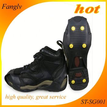 Antislip Shoes Cover Snow And Ice Shoe Spikes Best Quality Grip