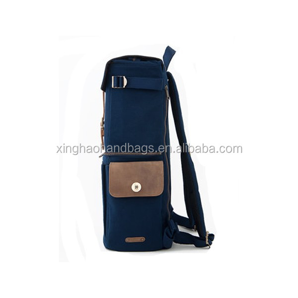 "Water-resistant Canvas Backpack 15"" Laptop Backpacks DSLR Camera Bag"