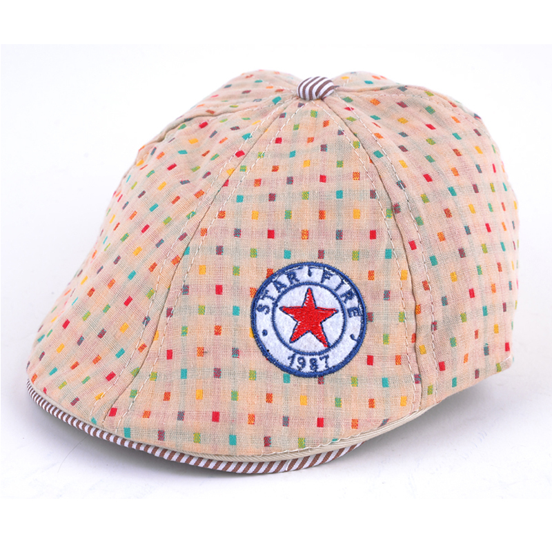 2ca51154f01 Get Quotations · 2015 super lovely spring summer baby hat kids flat caps  boys newsboy hats and girls berets