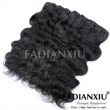 Hair bundle body wave real human hair indian remy hair weave 100g for one pack