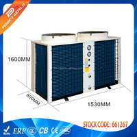Famous Brand Expansion Valve Air Source Heat Pump Reviews With COP 3.89