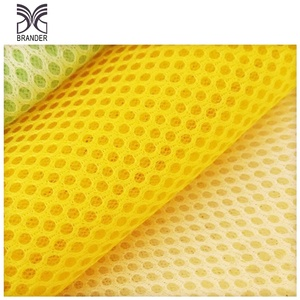 Flame Retardant 100% Polyester Microfiber Sandwich spacer mesh fabric for golf car seat cushion cover