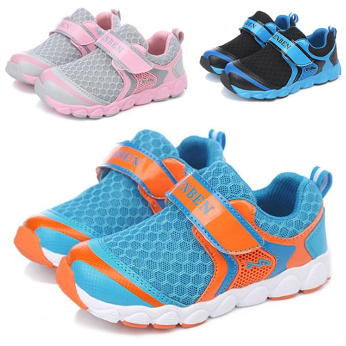 Many color options new 2014 children's shoes for boys and girls running shoes breathable shoes free shipping size 25-37