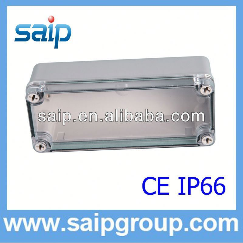 ABS/PC waterproof solar battery box IP66 with CE