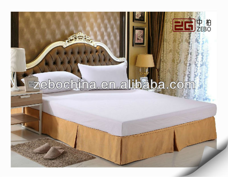 Decorative Yellow Bed Skirts With Fitted Sheet Buy Yellow Bed
