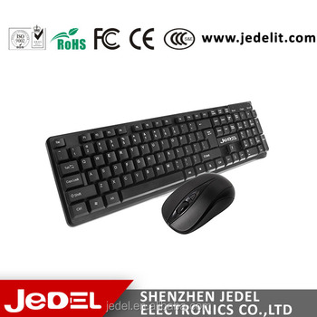 Wireless keyboard mouse combo,High quality hot selling keyboard mouse GZ  factroy---Jedl WS630, View Wireless keyboard, JEDEL Product Details from