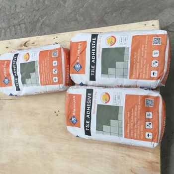 White Color Ceramic Tile Adhesive Based Adhesives Floors Cement Board