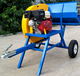 Hot selling petrol log saw