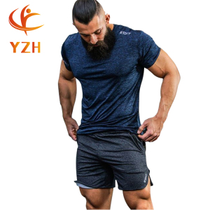 New design Arrival 100% polyester sportswear ODM blank mens gym t shirt