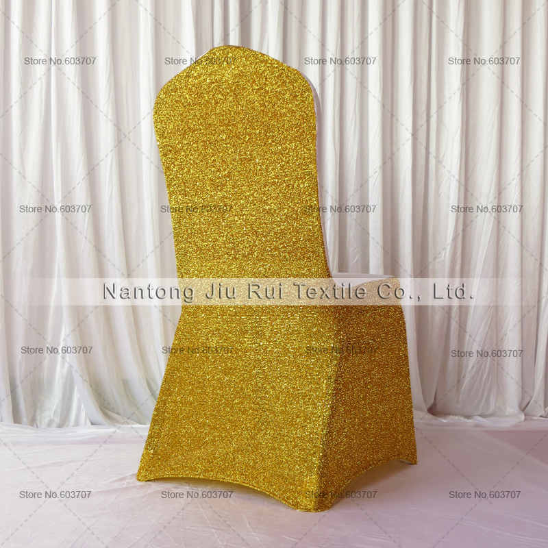 Awe Inspiring Glitter Gold Silver Spandex Chair Cover For Wedding Decoration View Cheap Spandex Chair Cover Product Details From Nantong Jiu Rui Textile Co Bralicious Painted Fabric Chair Ideas Braliciousco