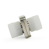 FC Square Two Piece Type Fiber Optic Adapter