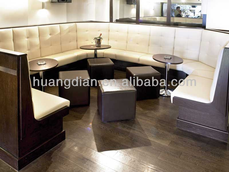 modern bar club booth seating hot sale night club banquette seat restaurant furniture coffee shop furniture diner bench