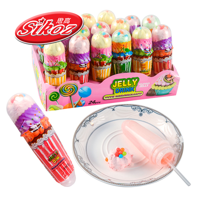 عالية الجودة الحلال لفة الخطمي حلوى مصاصة
