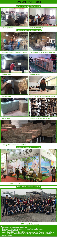 New Trendy Cane rattan Sofa Set