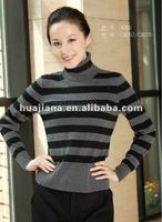 ladies turtleneck cashmere sweater for winter