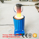 Portable induction heating glass melting furance