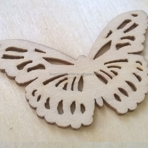 xmas wood ornament supplier wooden butterfly