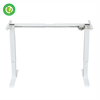 electric height adjustable desk frame with anti collision function single motor adjustable stand table legs with linear actuator