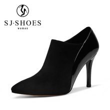 D011 Latest style custom wholesale indian ladies shoes women midum dress heel