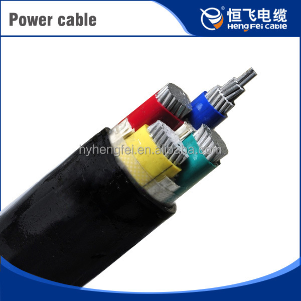 Medium Voltage Twisted Xlpe Power Cable 110Kv High Voltage