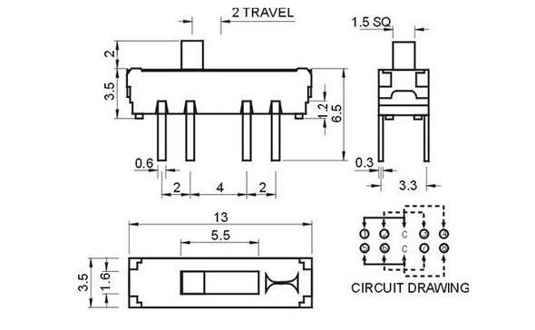 2 Way 3 Position Mini Slide Switch Mss-23d19 - Buy 2 Way 3 Position  Position Slide Switch Wiring Diagram on 6 prong toggle switch diagram, 3 position light switch diagram, 6 pin toggle switch diagram, throttle position sensor wiring diagram, 2 position selector switch diagram, 3 position wall switch, crankshaft position sensor wiring diagram, 3 position switch operation, 3 pole switch diagram, 2 pole switch diagram, 3 position toggle switch, 3-way toggle switch diagram, dpdt on-off-on switch diagram, 3 position switch parts, 3 position ignition switch diagram, light switch outlet diagram, ignition starter switch diagram, jeep cj headlight switch diagram, on off on toggle switch diagram,