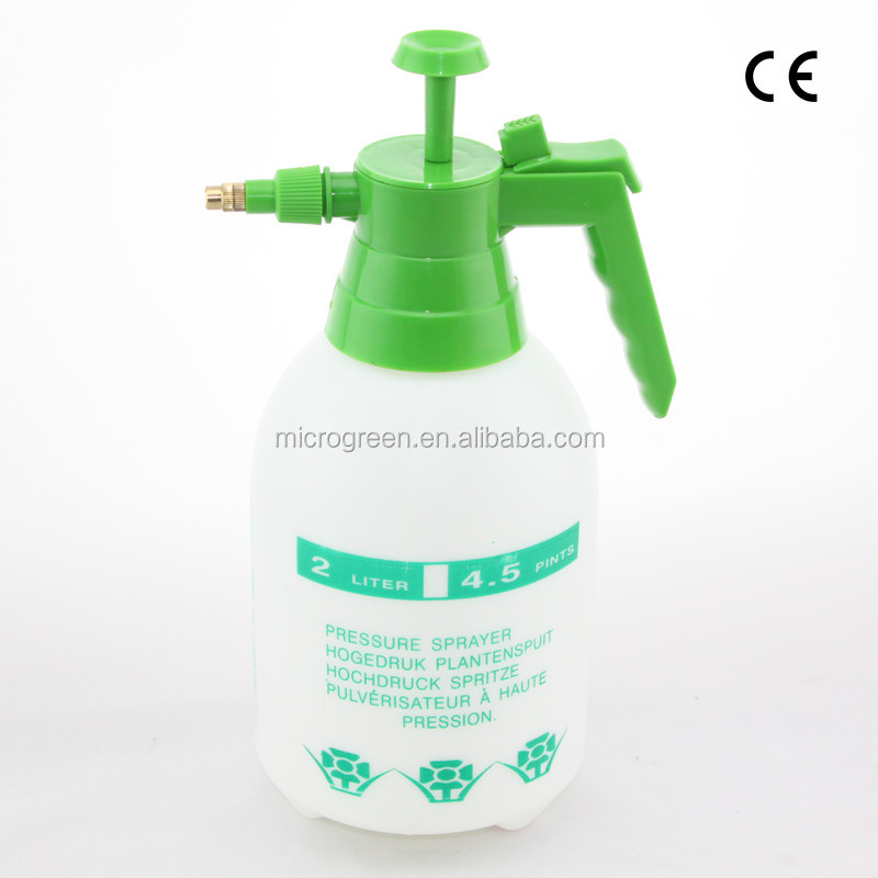 Hot Selling 2.0L Pressurized Plant Water Sprayer With Brass Nozzle