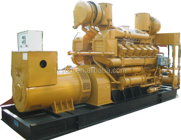 350kva gas generator Low noise energy saving waste recycling/280KW YUCHAI gs generator