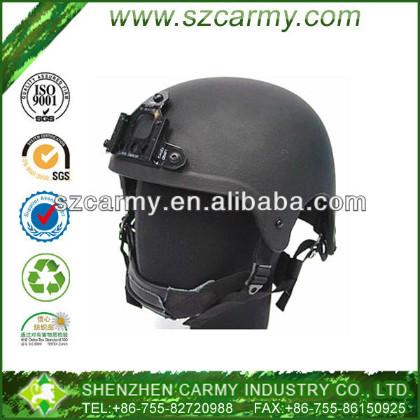 Paintball or CS Game IBH Matt Color Glare-free Helmet with Stand