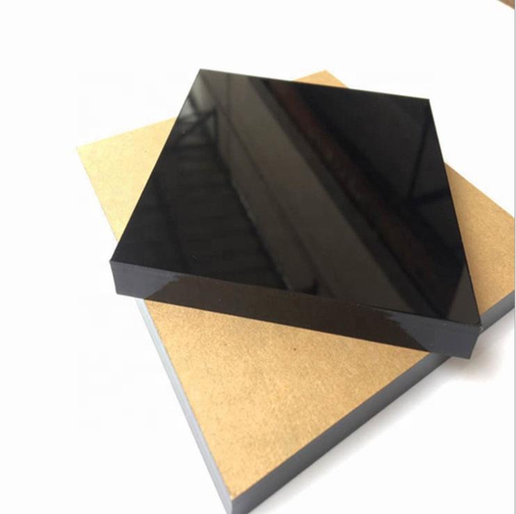 4*8 फीट विज्ञापन 100% नई सामग्री उच्च गुणवत्ता कास्ट दिन रात एक्रिलिक एक्रिलिक, काले सफेद Plexiglass शीट