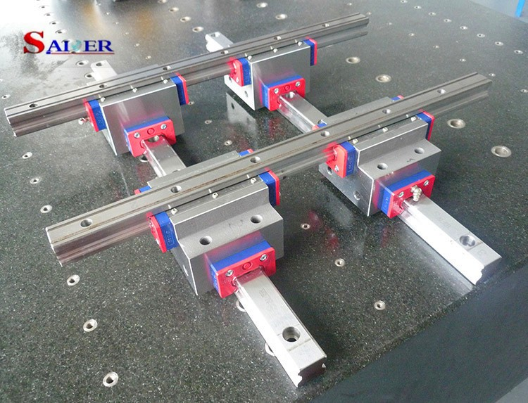 New products cross roller guide rail linear motion slide/cross guide with slider
