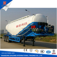 China manufacture 3 axles bulk cement semi trailer for sale