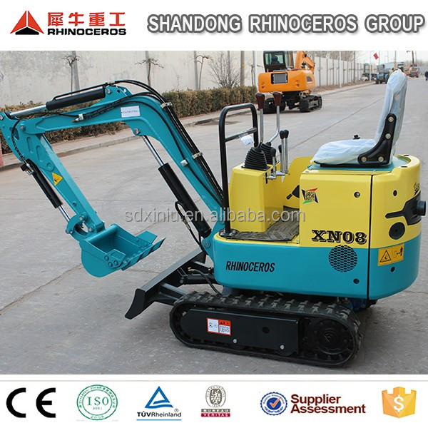 China supply farm mini digger mini backhoe digger with CE ISO 800kgs