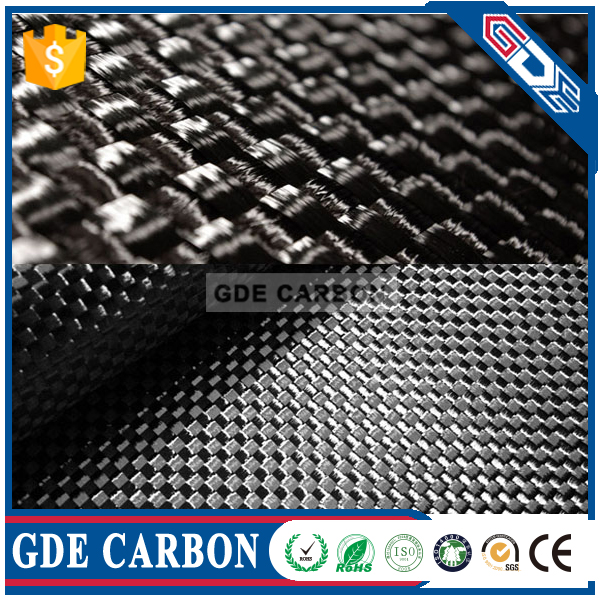 3k plain high strength light weight carbon fiber clothes