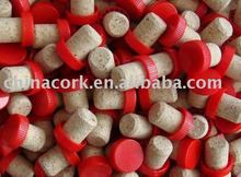 Cork Stopper With Plastic Cap