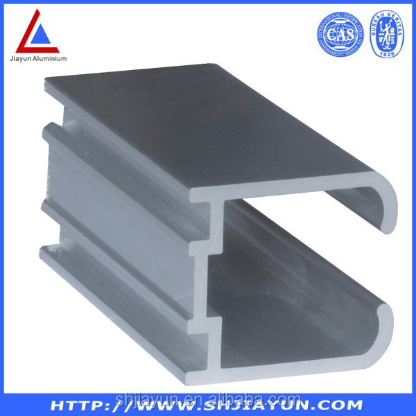 office partition aluminum profiles manufacturer in shanghai with ISO certificates