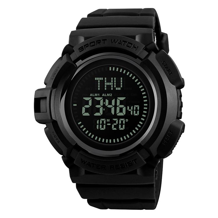 skmei latest fashion men's relojes waterproof G sports compass wristwatch military time sports digital watch