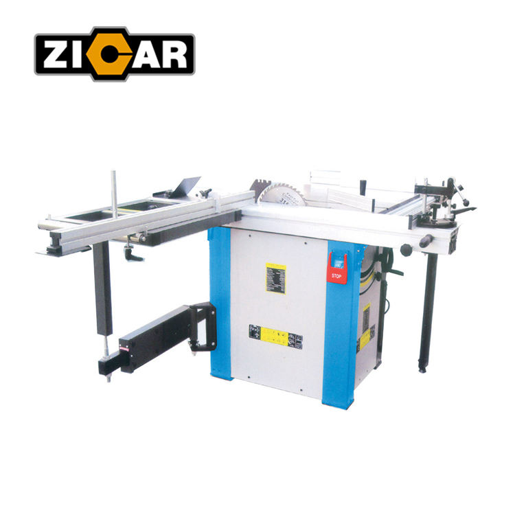 ZICAR wood working sliding table <strong>saw</strong> made in china precision wood cutting sliding table <strong>saw</strong> machine with scoring blade