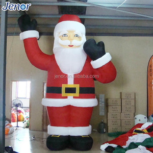 13ft Xmas Light Inflatable Santa Inflatable Old Man for Christmas Decor