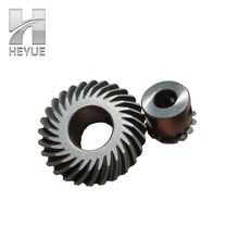 Oem Quality Agma Standard 16 Teeth 0-35degree Arc Different Bevel Gear For Motor