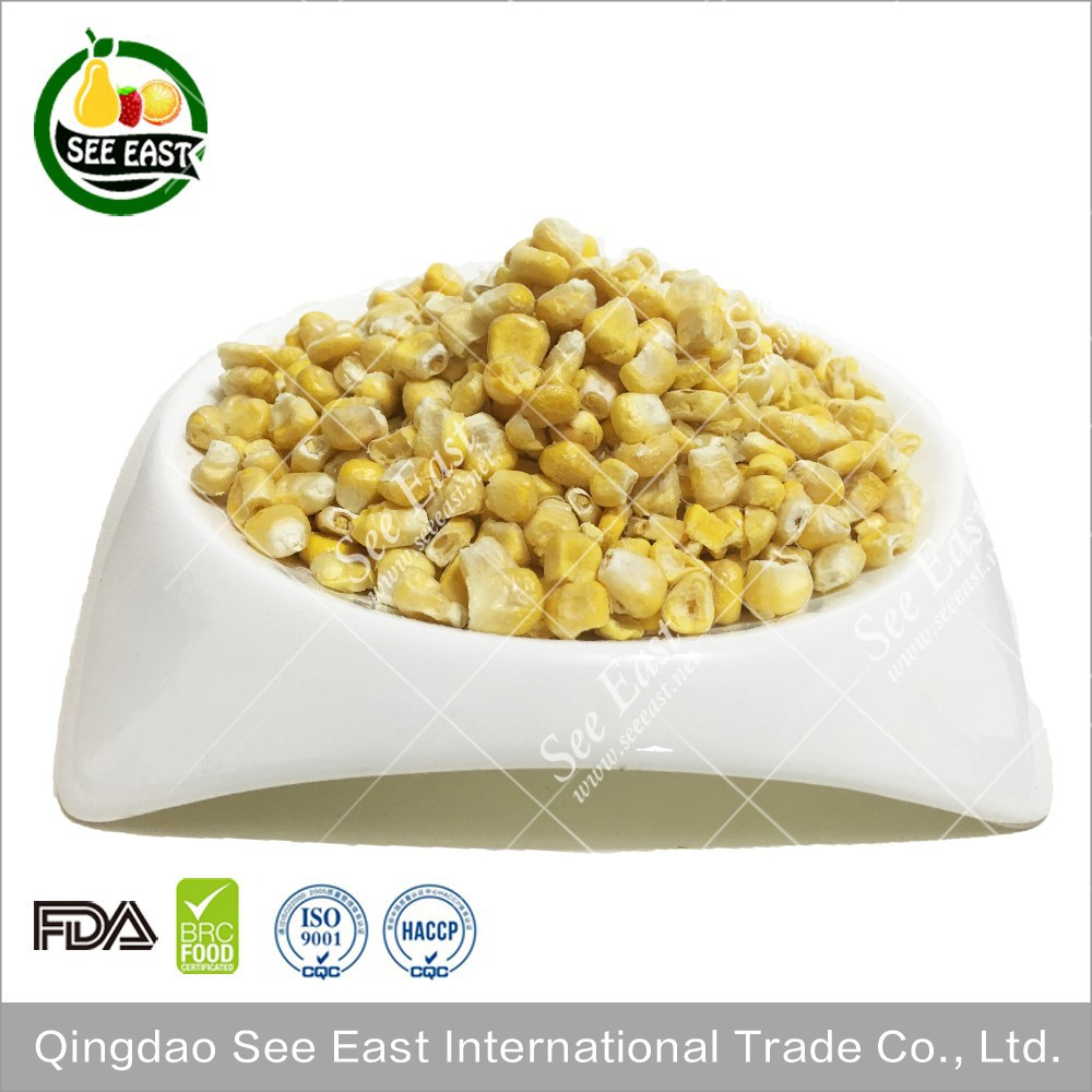 dry maize freeze dried yellow Corn dried sweet corn